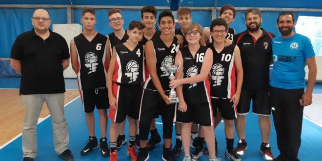 Primo posto al torneo U15 UISP e terzo posto U16. La Gaspare Longo Partinico ora attende i trofei estivi.